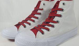 Converse CT AS HI (White/Gym Red) Sneaker [No Box]